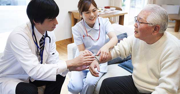 訪問診療のイメージ